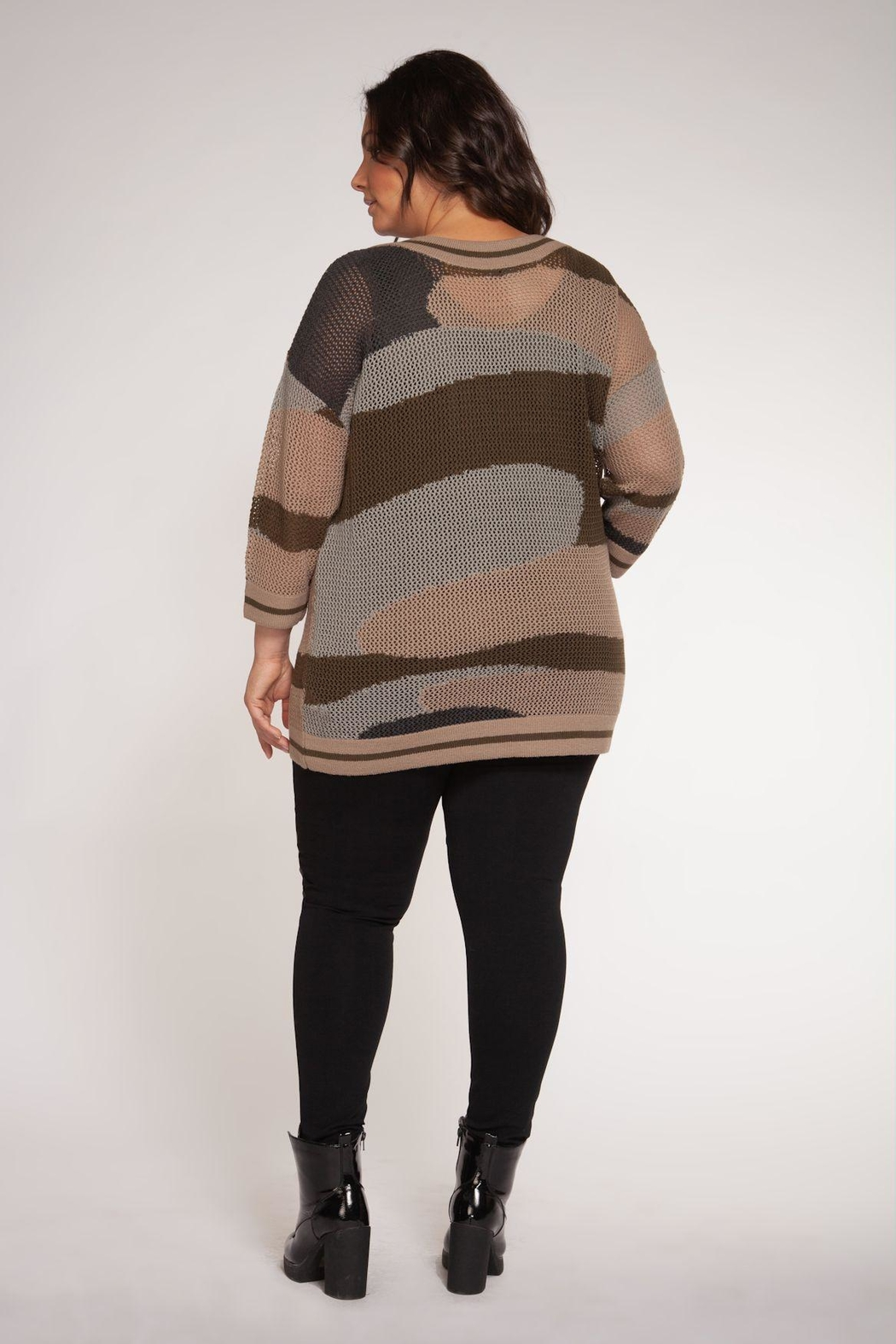 Dex Boat Neck Sweater - Side Cropped Image