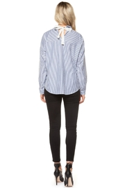 Dex Bow-Backed Blouse - Front full body