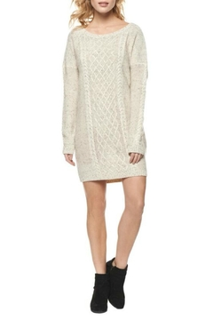 Shoptiques Product: Cable Knit Sweater Dress