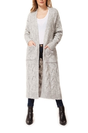 Dex Cableknit Duster Cardigan - Product Mini Image