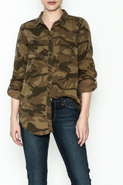 Dex Camo Button Down Top - Product Mini Image