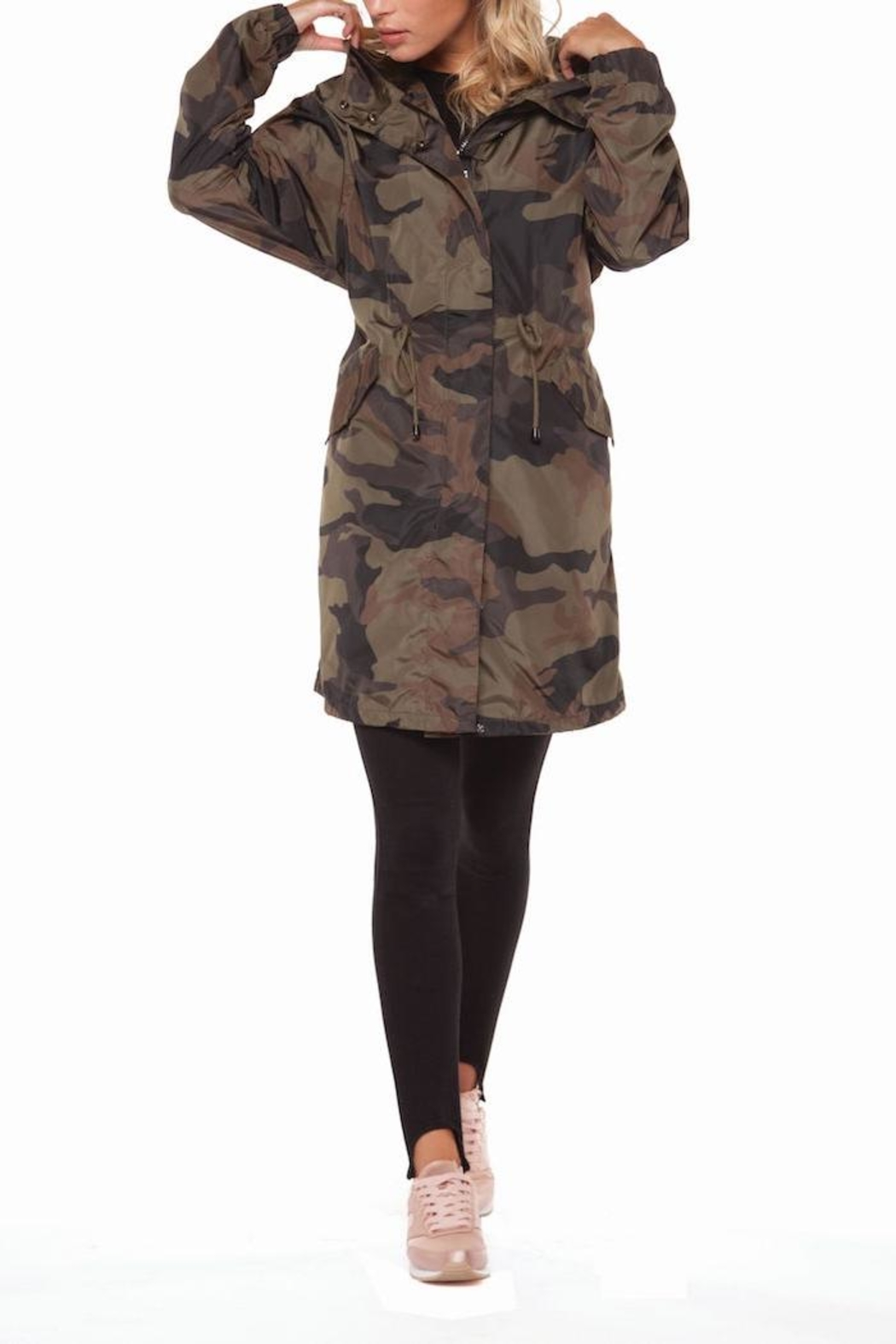Dex Camo Print Jacket - Main Image