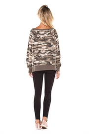 Dex Camo Print Sweatshirt - Front full body