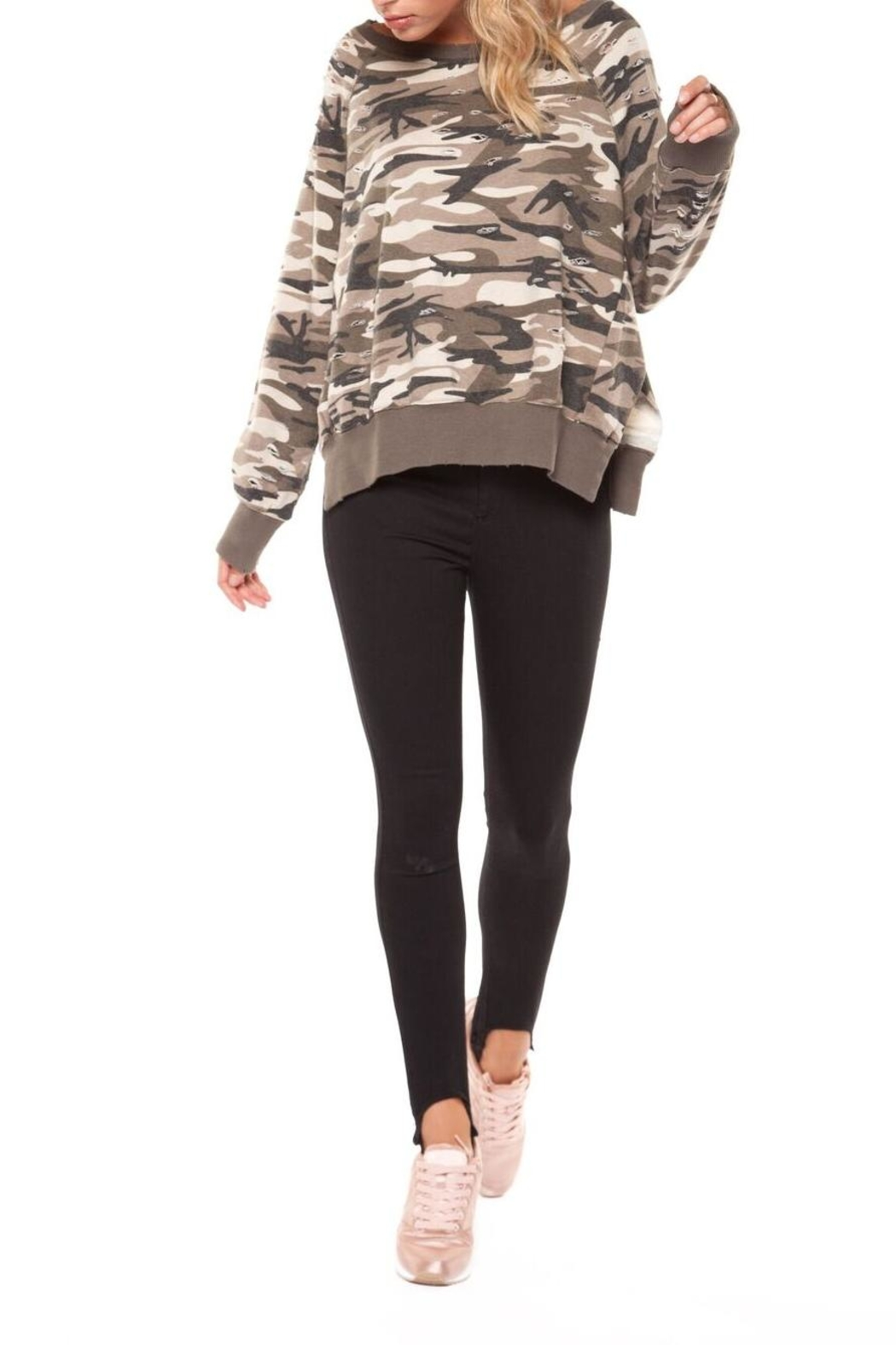 new style d0b57 ff15a Dex Camo Sweatshirt from Calgary by Seven Saints — Shoptiques