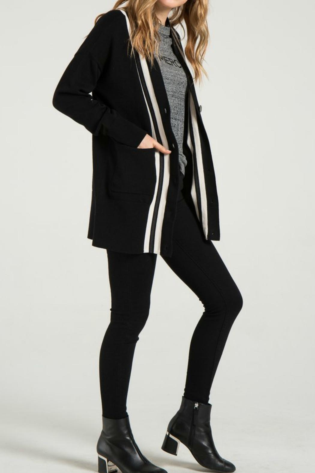 n : PHILANTHROPY Dex Cardigan Sweater - Side Cropped Image