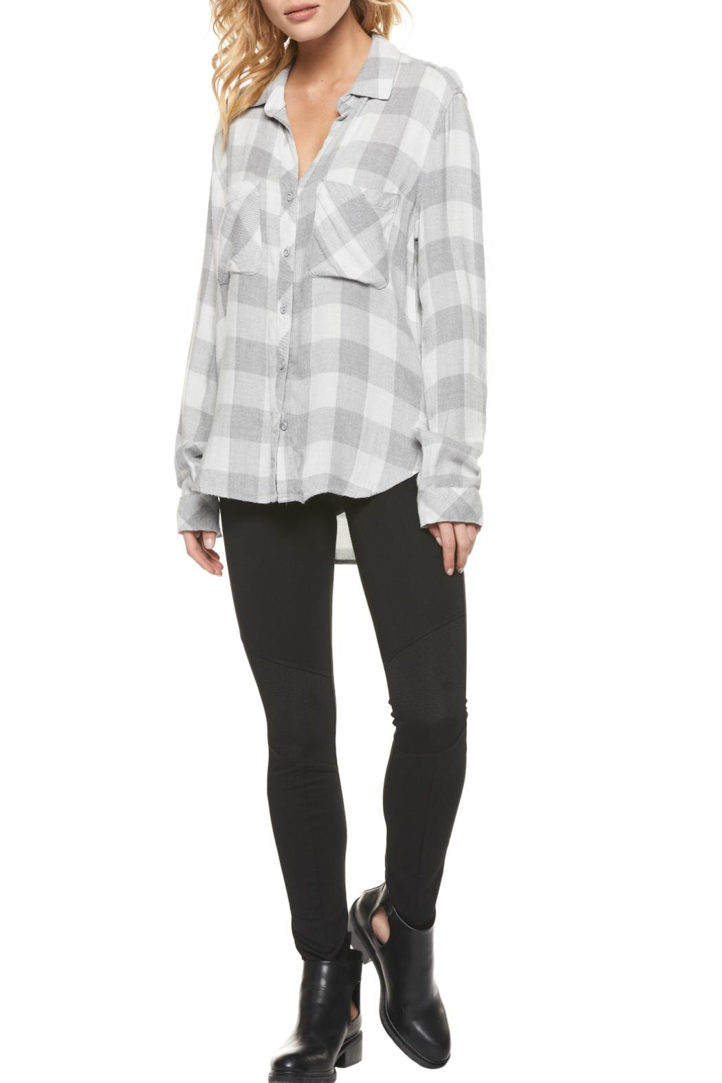 Dex Checked Flannel Shirt - Main Image