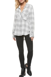 Dex Checked Flannel Shirt - Front cropped