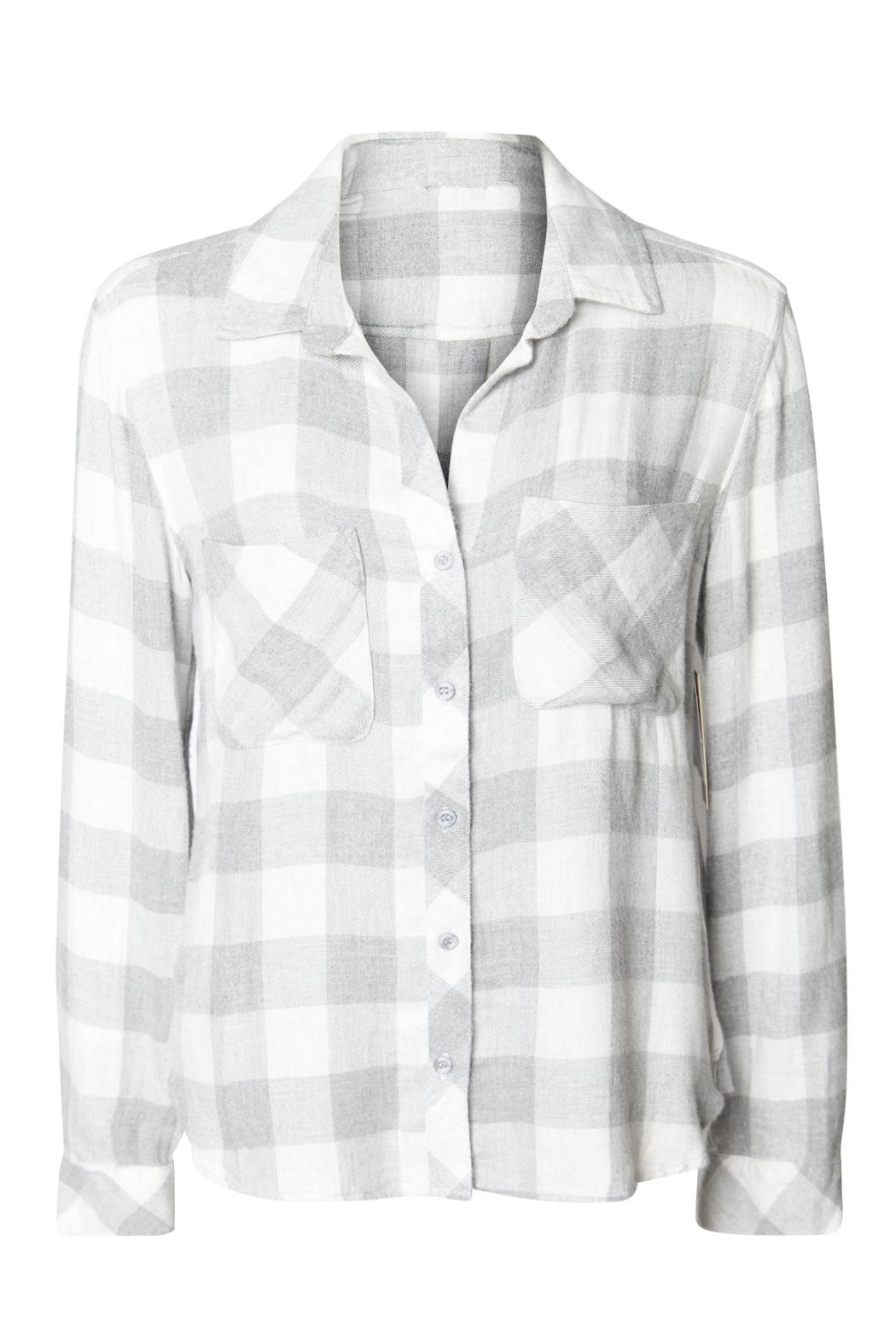 Dex Checked Flannel Shirt - Front Full Image
