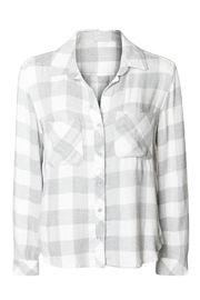 Dex Checked Flannel Shirt - Front full body