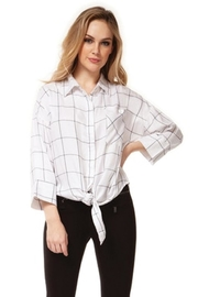 Dex Checkered Blouse - Product Mini Image