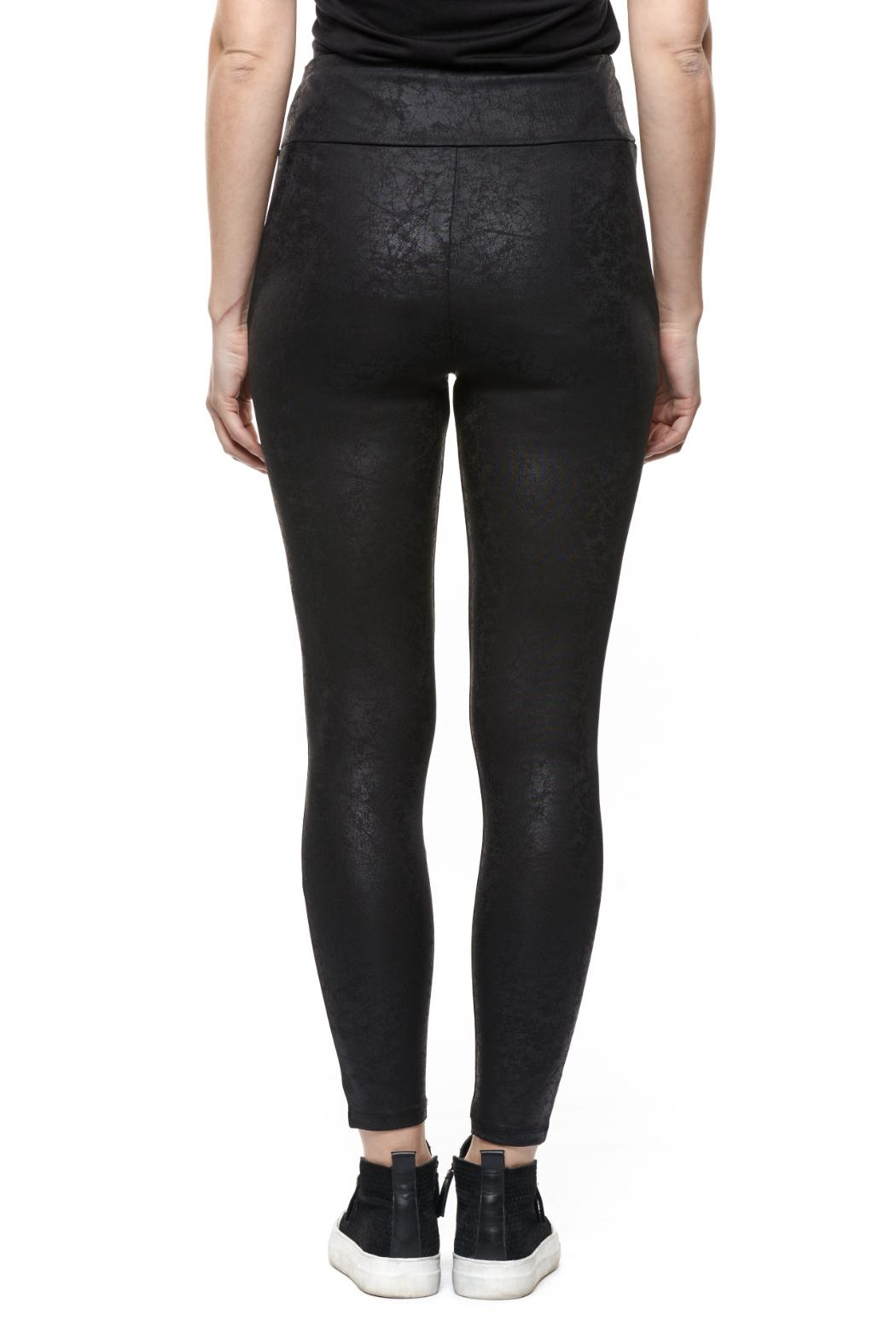 Dex Coated Faux-Leather Legging - Front Full Image