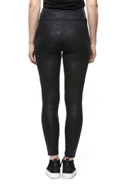 Dex Coated Faux-Leather Legging - Front full body