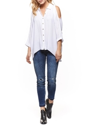 Dex Cold Shoulder Blouse - Product Mini Image