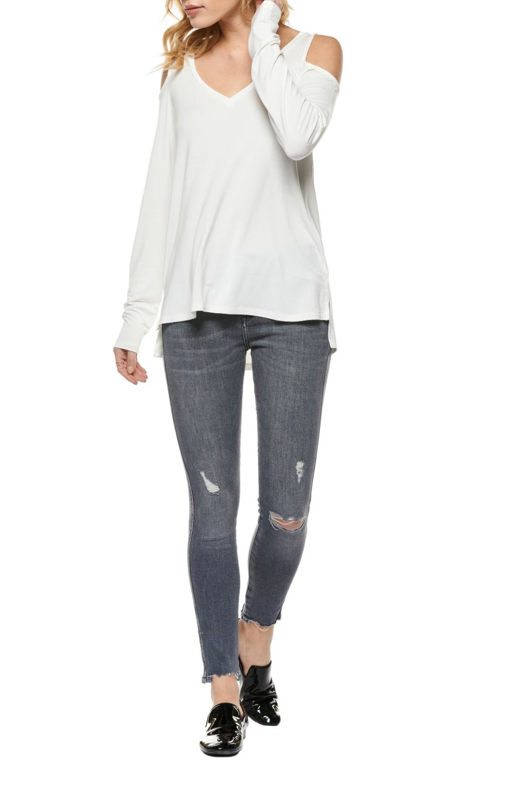 Dex Cold Long Sleeves Top - Front Cropped Image