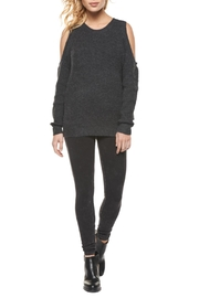 Dex Cold Shoulder Scoop Sweater - Product Mini Image