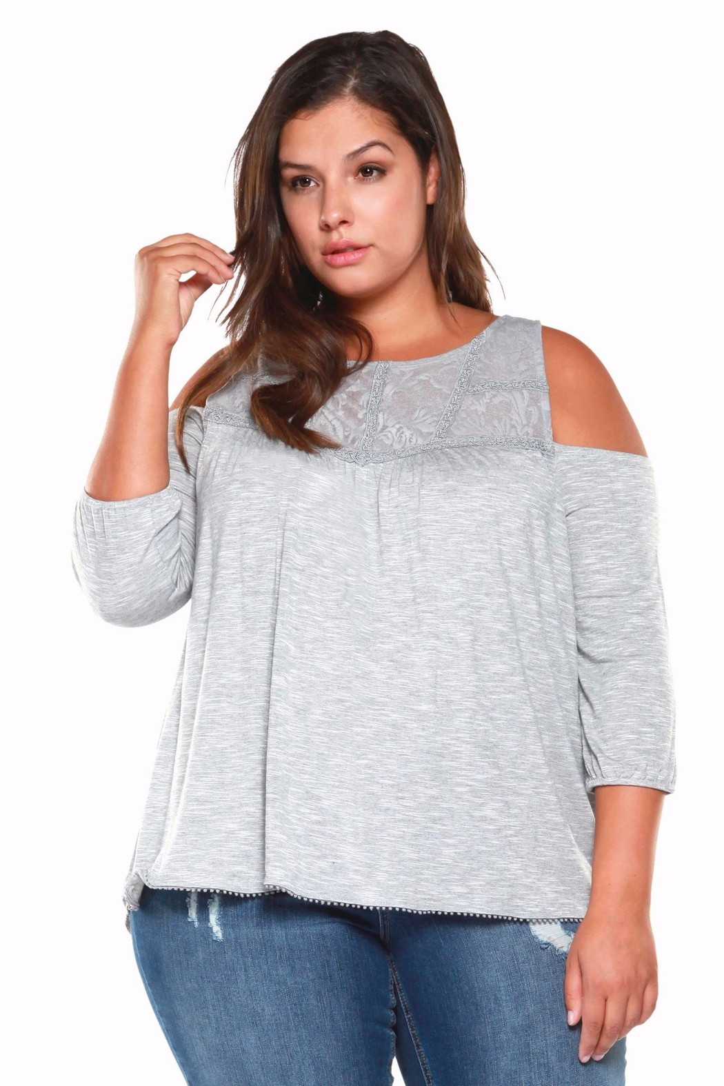dfb55abbd6b Dex Cold Shoulder Top from Canada by The Plus Factor — Shoptiques