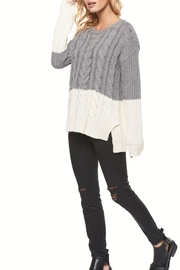 Dex Color Block Sweater - Product Mini Image