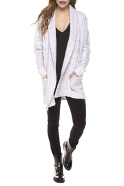 Dex Cozy Grey Cardigan - Product Mini Image