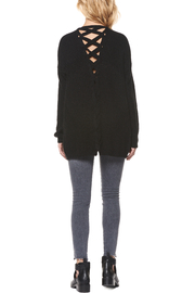 Dex Crisscross Back Cardigan - Product Mini Image