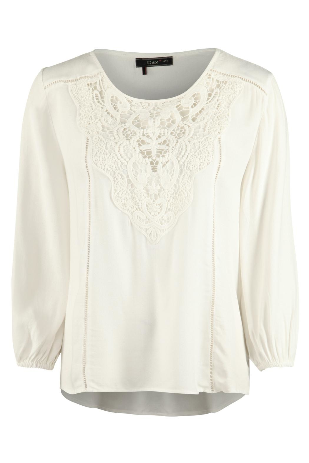 a605ff03a2e Dex Crochet Bib Blouse from New Jersey by Ocean Grove Trading Co ...