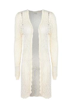 Shoptiques Product: Crochet Lace Cardigan