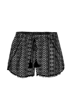 Shoptiques Product: Crochet Trim Shorts