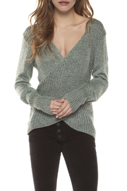 Dex Crossed Sweater Top - Product Mini Image