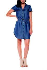 Dex Denim Blues Dress - Product Mini Image