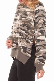 Dex Distressed Camo Sweathirt - Product Mini Image