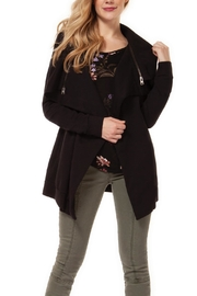 Dex Draped Zip Cardigan - Product Mini Image