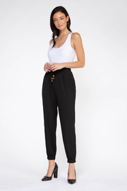 Dex Drawn Up Joggers - Front full body