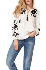 Dex Embroidered Tassel Top - Product Mini Image