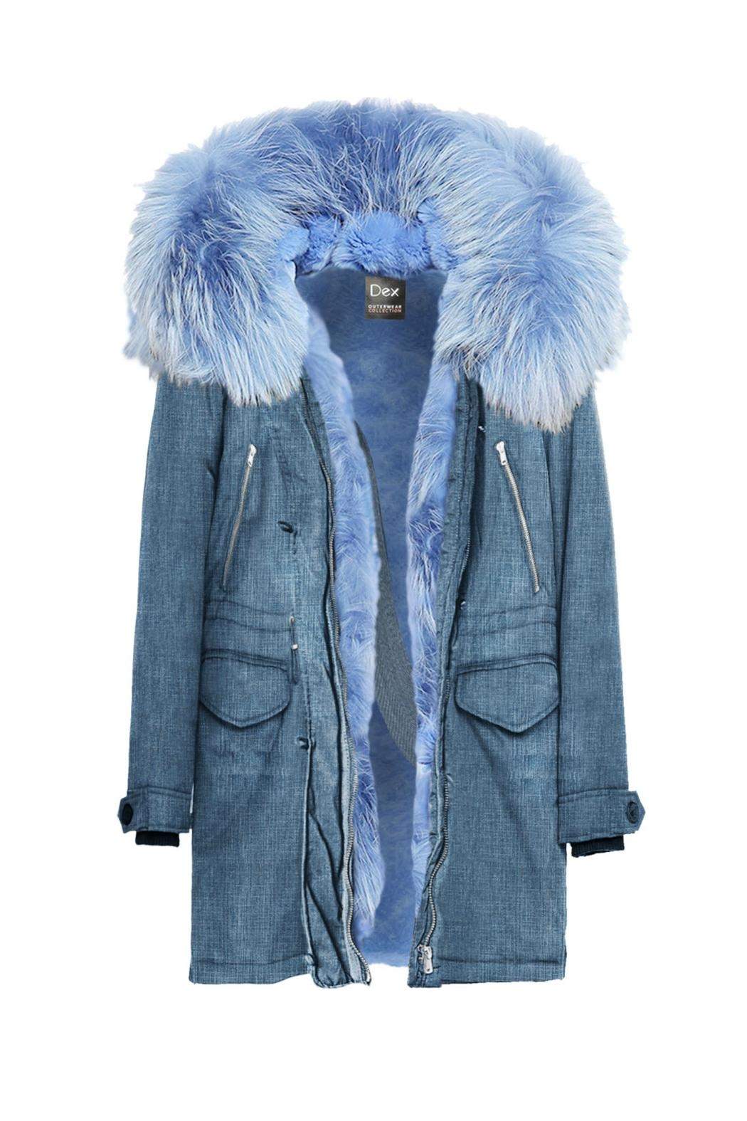 Dex Faux Fur Parka from New Jersey by Charlotte's Web Towaco ...