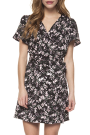 Dex Faux Wrap Dress - Product Mini Image