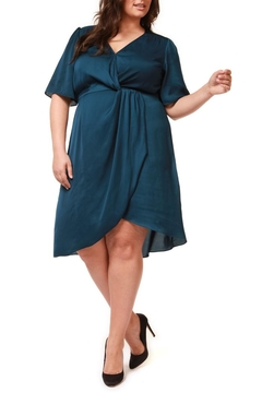 Dex Faux Wrap Dress - Product List Image