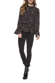 Dex Floral Bell Blouse - Product Mini Image