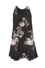 Dex Floral Dressy Dress - Front full body