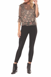 Dex Floral Print Blouse - Product Mini Image