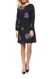 Dex Floral Shift Dress - Front full body