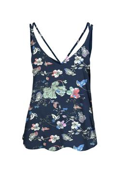 Shoptiques Product: Floral Strappy Tank