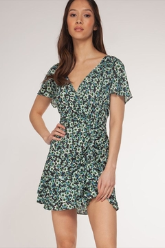 Dex Floral V-Neck Dress - Alternate List Image