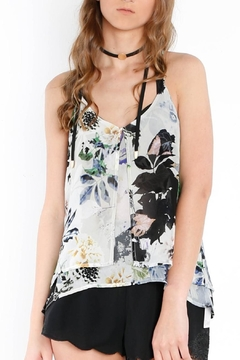 Shoptiques Product: Flowy Floral Tank Top