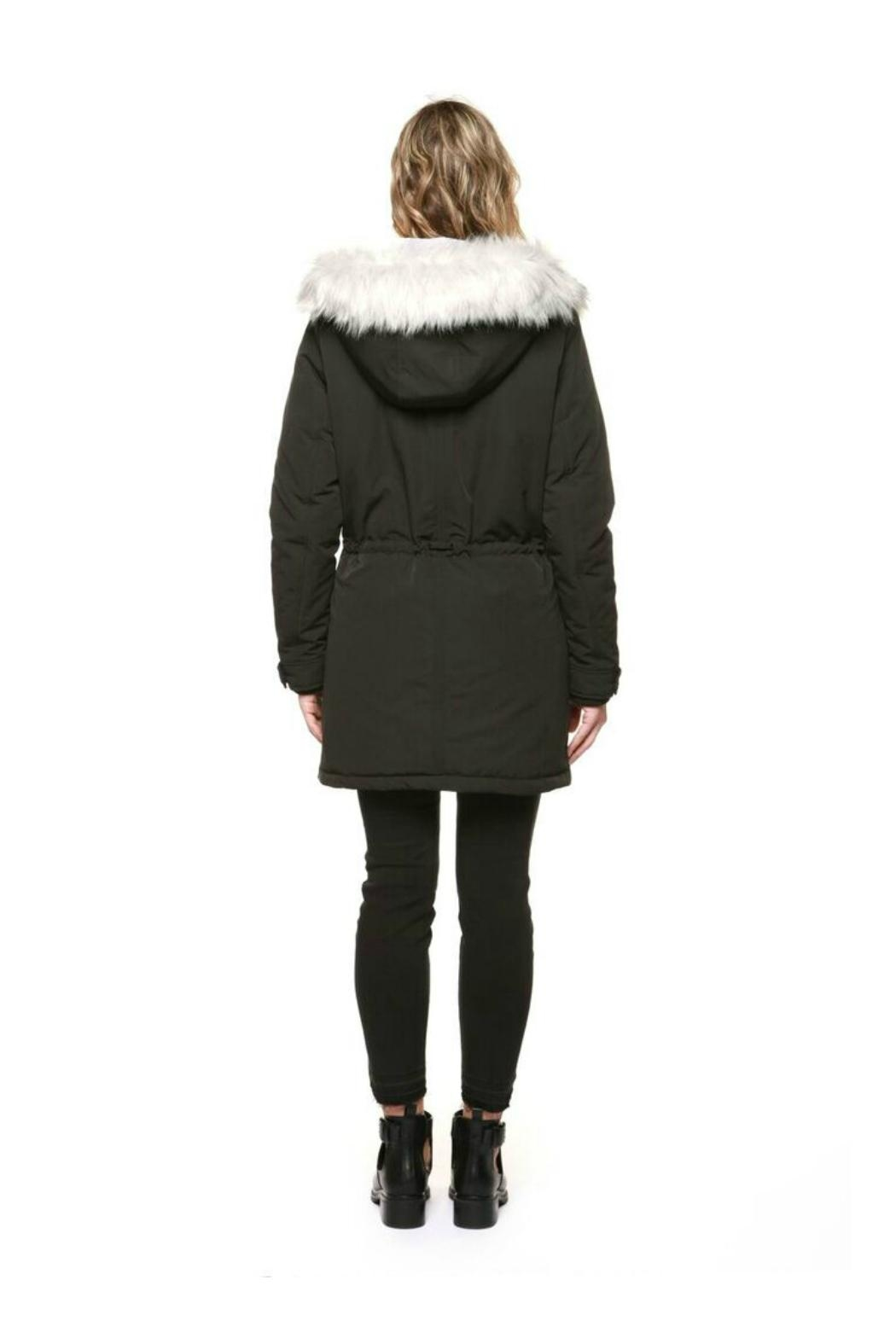 Dex Furry Hooded Parka - Front Full Image