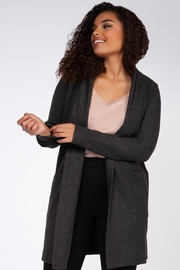 Dex Gray Cardigan - Product Mini Image