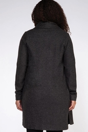 Dex Gray Cardigan - Front full body