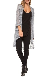 Dex Grey Duster Cardigan - Product Mini Image