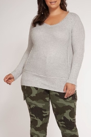 Dex Grey Thermal Longsleeve - Front cropped