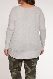 Dex Grey Thermal Longsleeve - Front full body