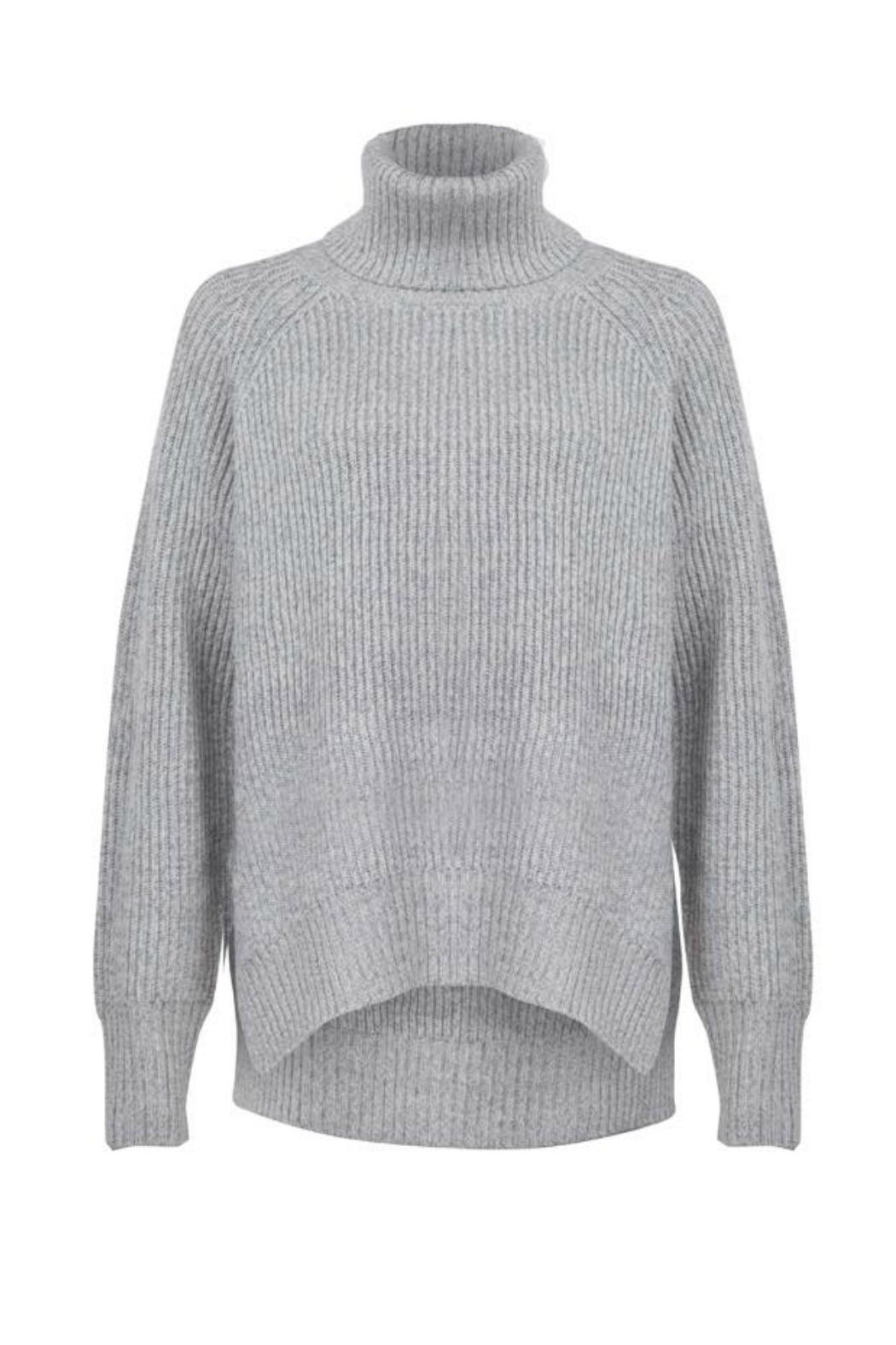 Dex Grey Turtleneck Sweater From Denver By The Street