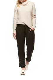 Dex Heathered Turtleneck Sweater - Front cropped